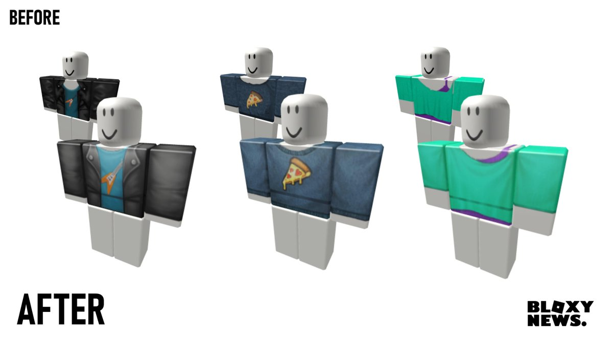 Bloxy News On Twitter Some Of The Free Default Roblox Shirts