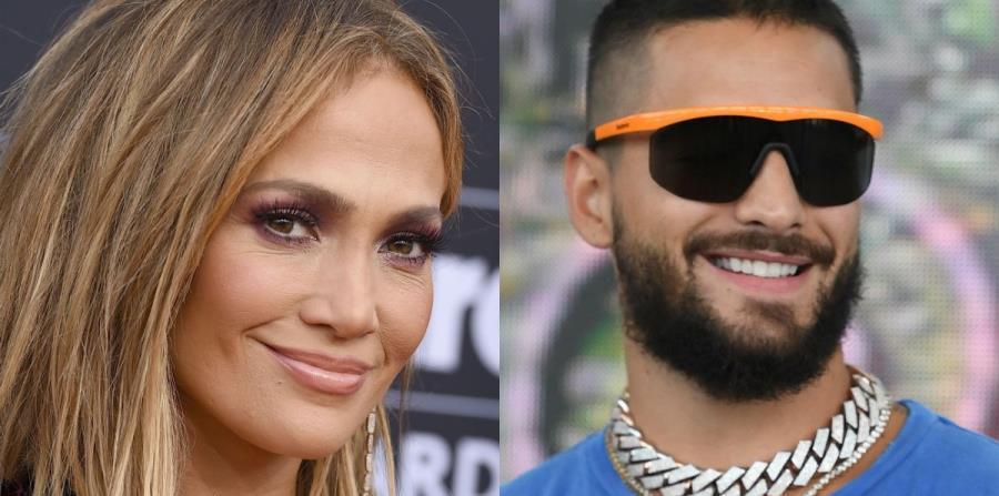 """Jennifer López y Maluma sorprendieron al cantar """"No me ames"""" en el Madison Square Garden bit.ly/2VgcxBw"""