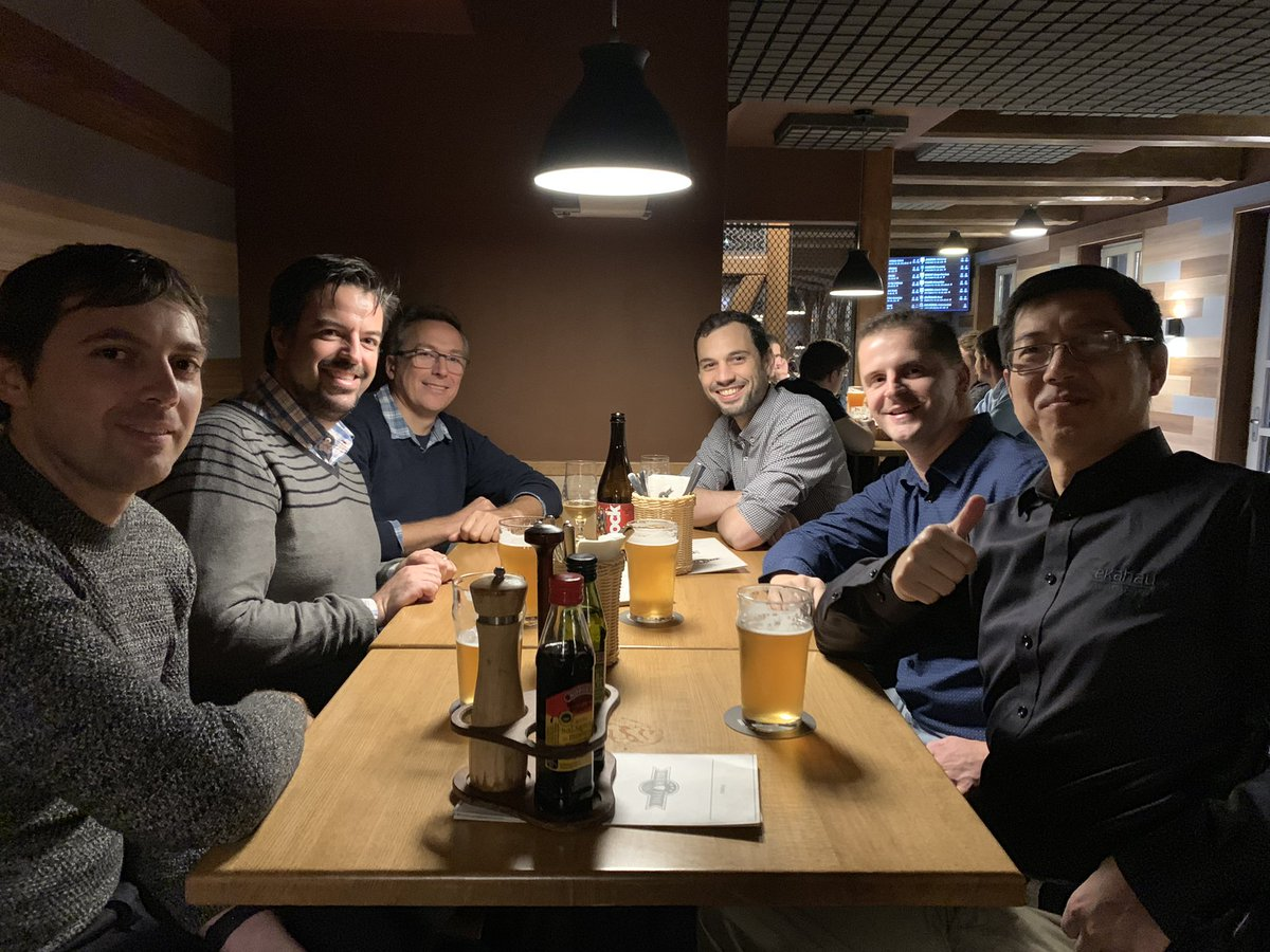 Diner with CWNEs at WLPC Prague 2019 !