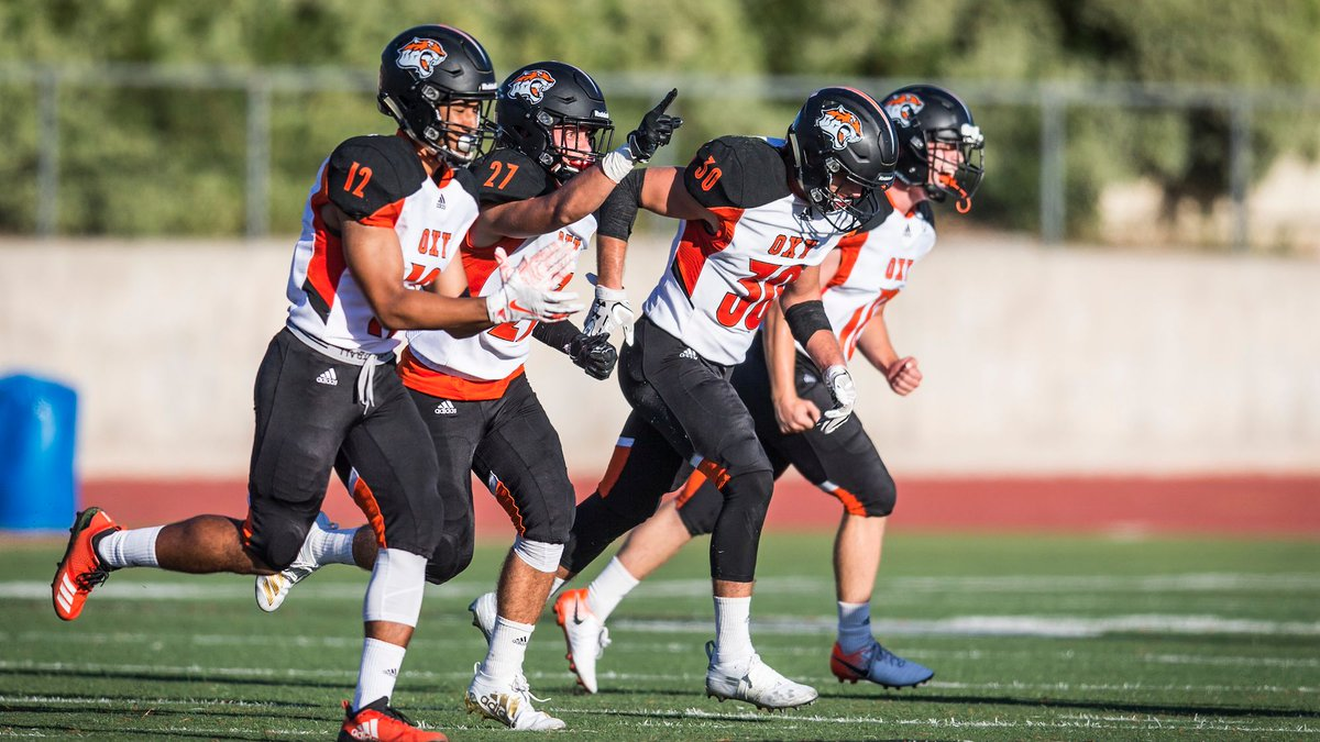 .@OxyFootball opens their conference play against Cal Lutheran TODAY at 1pm at Jack Kemp Stadium. Come on out to support your Tigers! 🐅 https://t.co/M53X7iKrH0