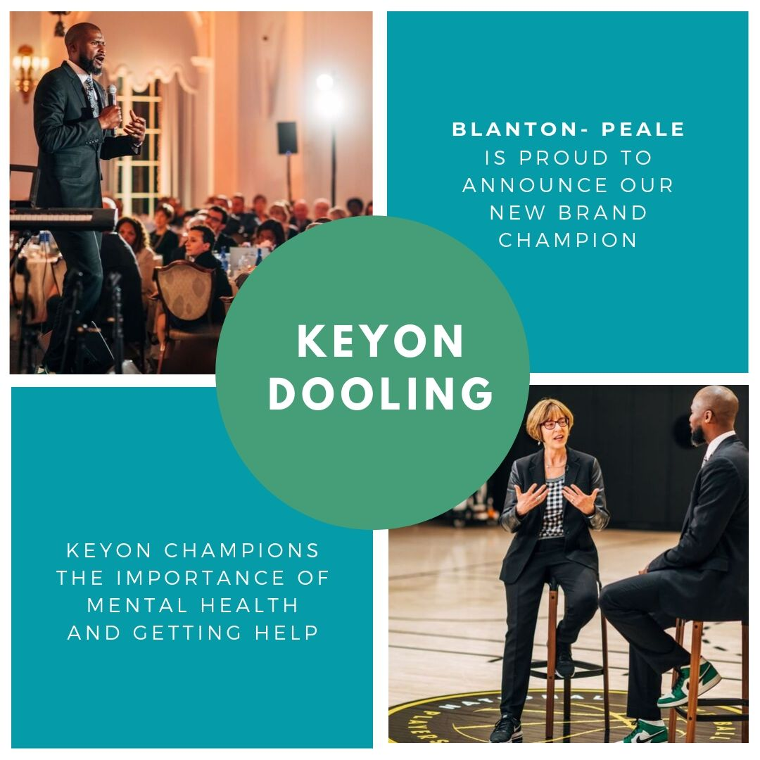 Blanton-Peale is thrilled to announce our first ever Brand Champion, @Keyon_Dooling! Check out our instagram for the full post. #MentalHealthAwareness https://www.instagram.com/blantonpeale/
