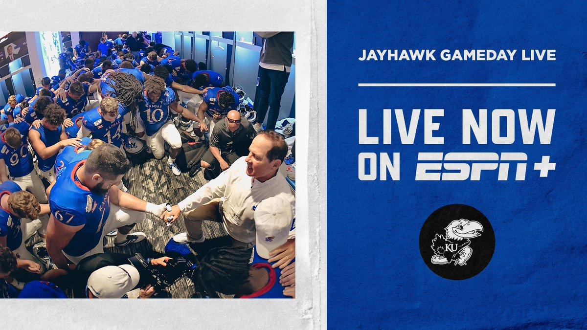 Tune into Postgame Jayhawk Gameday Live here ➝ kuathne.ws/33aE2iD
