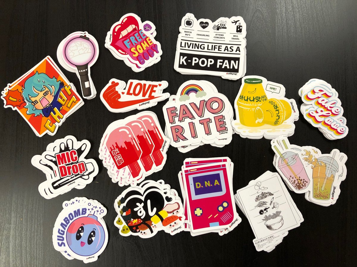 [STICKER LAUNCH EVENT] 20 Customers will WIN a SIGNED K-POP CD or Merch! See details here: shop.allkpop.com/blogs/news/new…