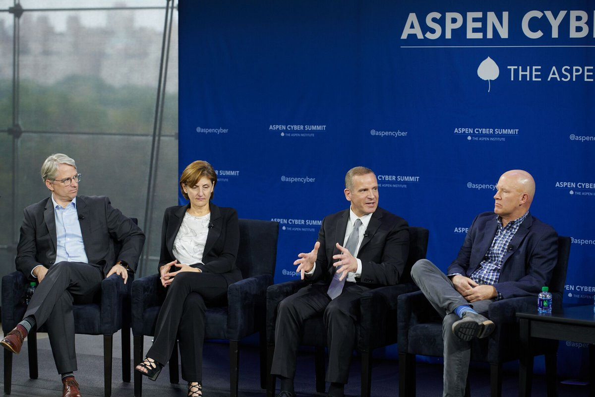 #ICYMI Associate Deputy Director Paul Abbate discussed emerging cybersecurity threats and recruiting and retaining cyber talent during the 2019 Aspen Cyber Summit this week. #AspenCyber