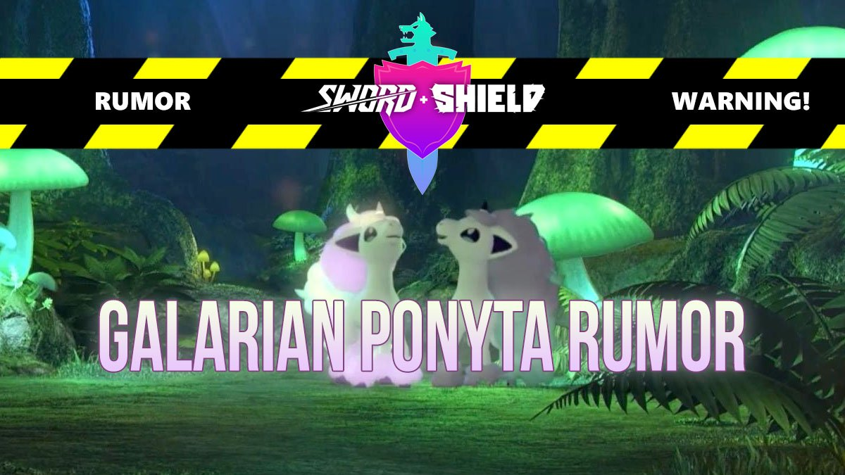 RUMOR: A post predicted a pure Fairy-type Galarian Ponyta LAST MONTH! Not the most original idea, BUT... check out what else they said made it into #PokemonSwordShield! Perfect time for a rumor before we get new info; could there be any truth to this?! 🦄pokejungle.net/2019/10/05/rum…