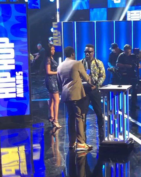 Sarkodie Wins Best International Flow At BET Hip Hop Awards 2019