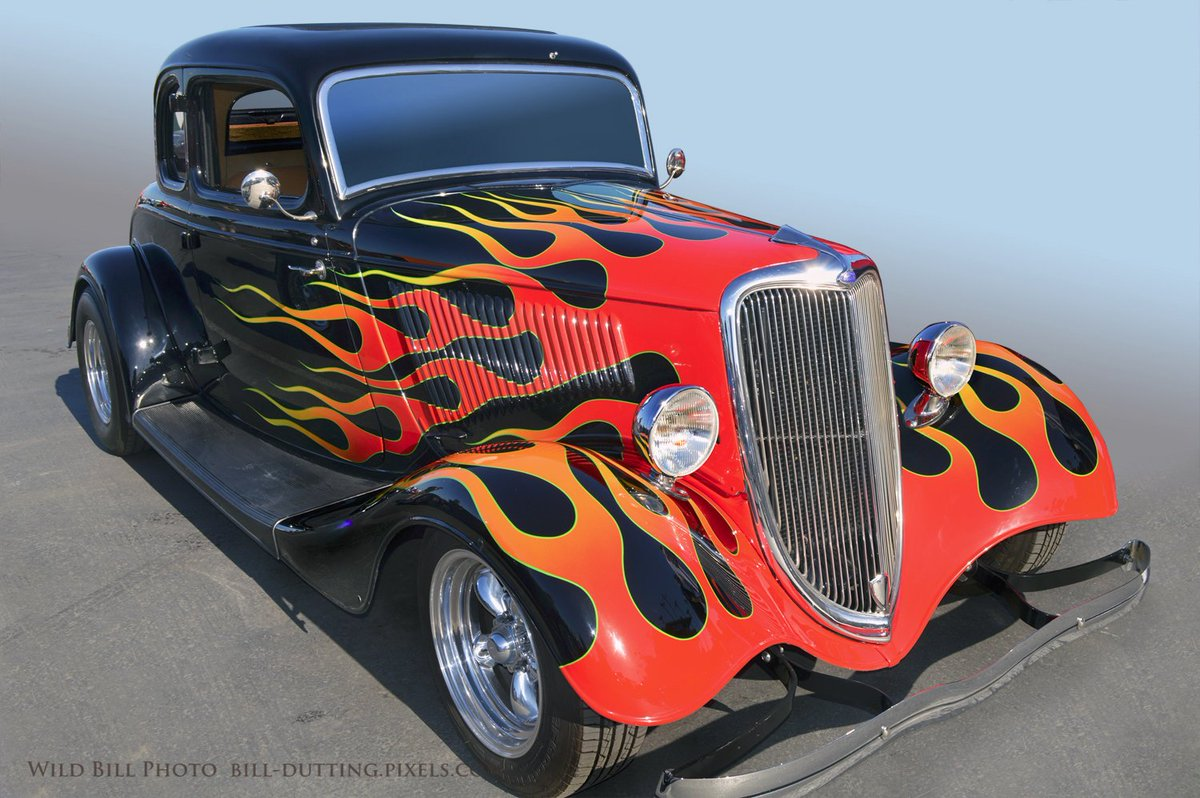 #Car 🚗 Awesome of the Day: Beautiful #Rockabilly 🔥 34 #Ford Coupe at the @GoodGuys Nationals in #DelMar #California #USA 🇺🇸 via @wildbillphoto #SamaCars