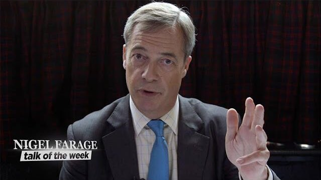 STREAMING NOW: Watch the latest @Nigel_Farage Talk of the Week - Extension Rebellion YouTube.com/NigelFarageOff… Watch and subscribe now!
