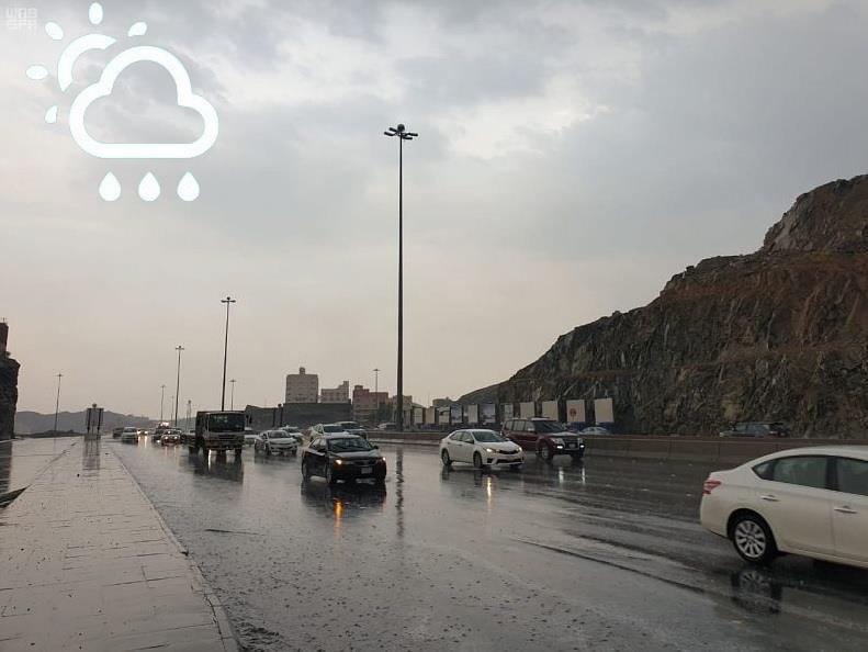 """صحيفة الخرج اليوم   توقعات """"الأرصاد"""" لحالة طقس الأحد: أمطار رعدية على عدد  من المناطق"""