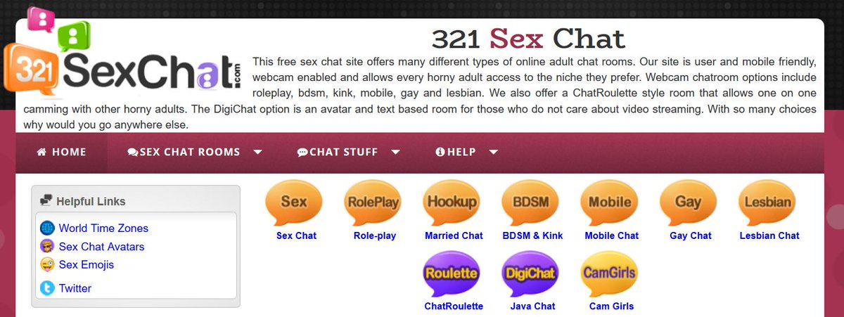 Free Sex Chat Rooms