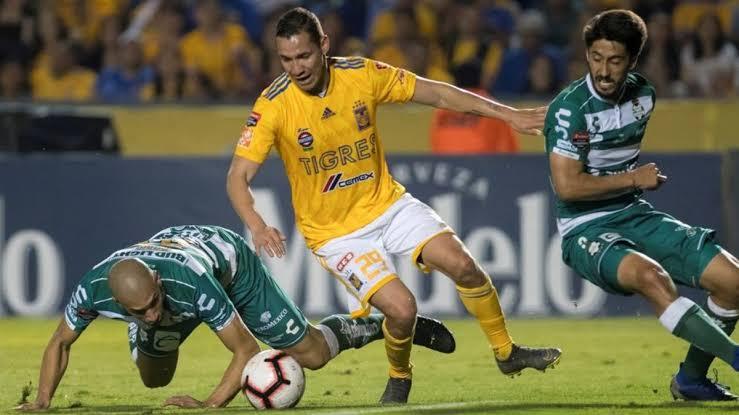 Tigres venció 4-0 al Santos Jornada 13 Liga MX 2019