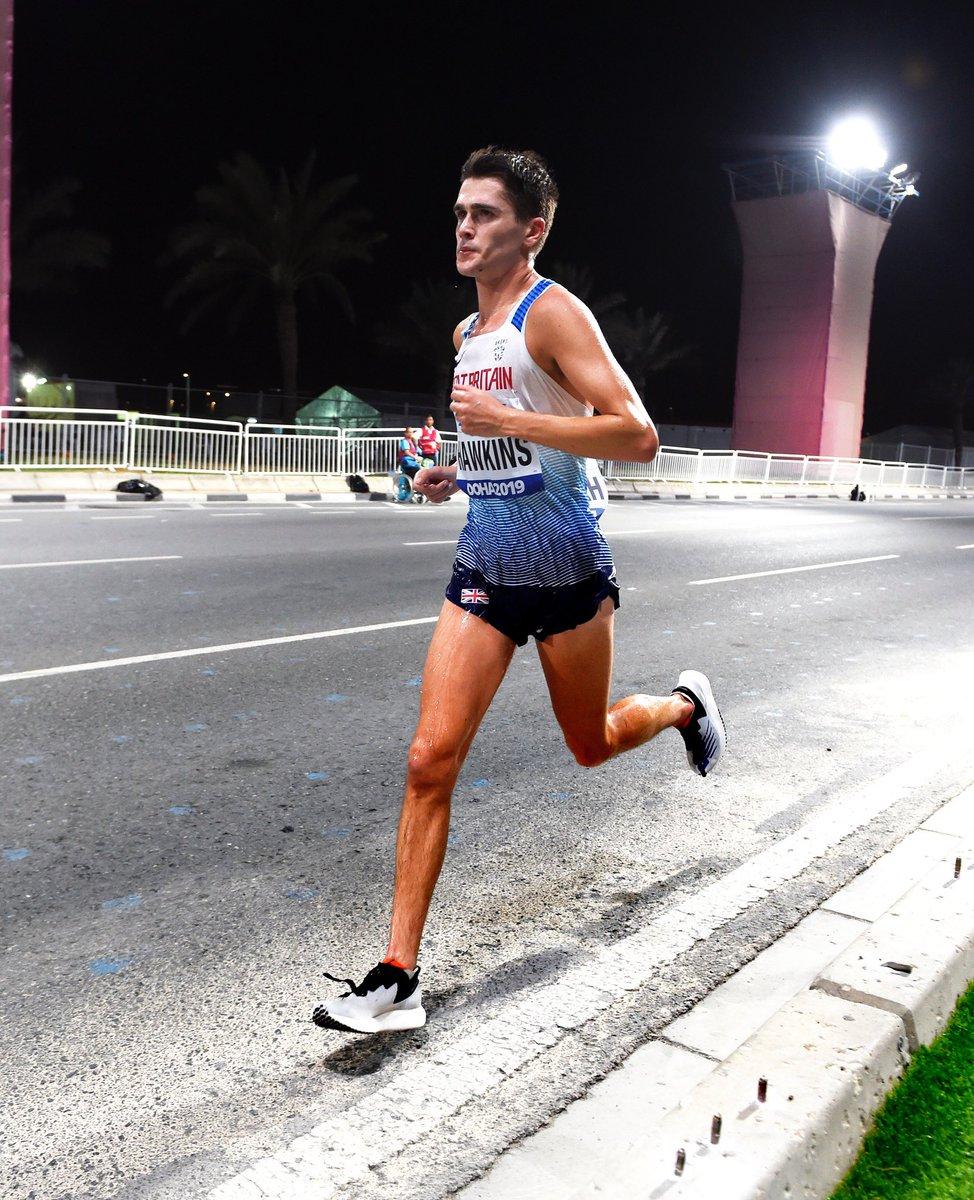 Driven. Strong. Persistent. Incredible run, @callhawk 👏 #WorldAthleticsChamps