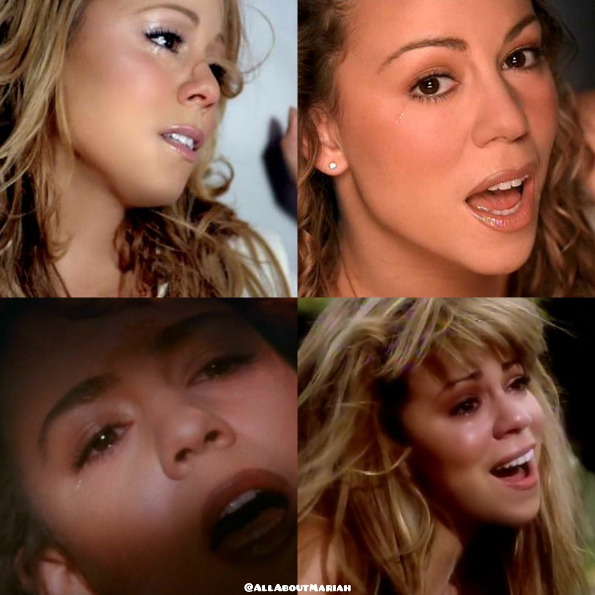 What  @MariahCarey songs can make you cry ?  #29YearsOfMariah  #L4L <br>http://pic.twitter.com/1cbLEp32TE