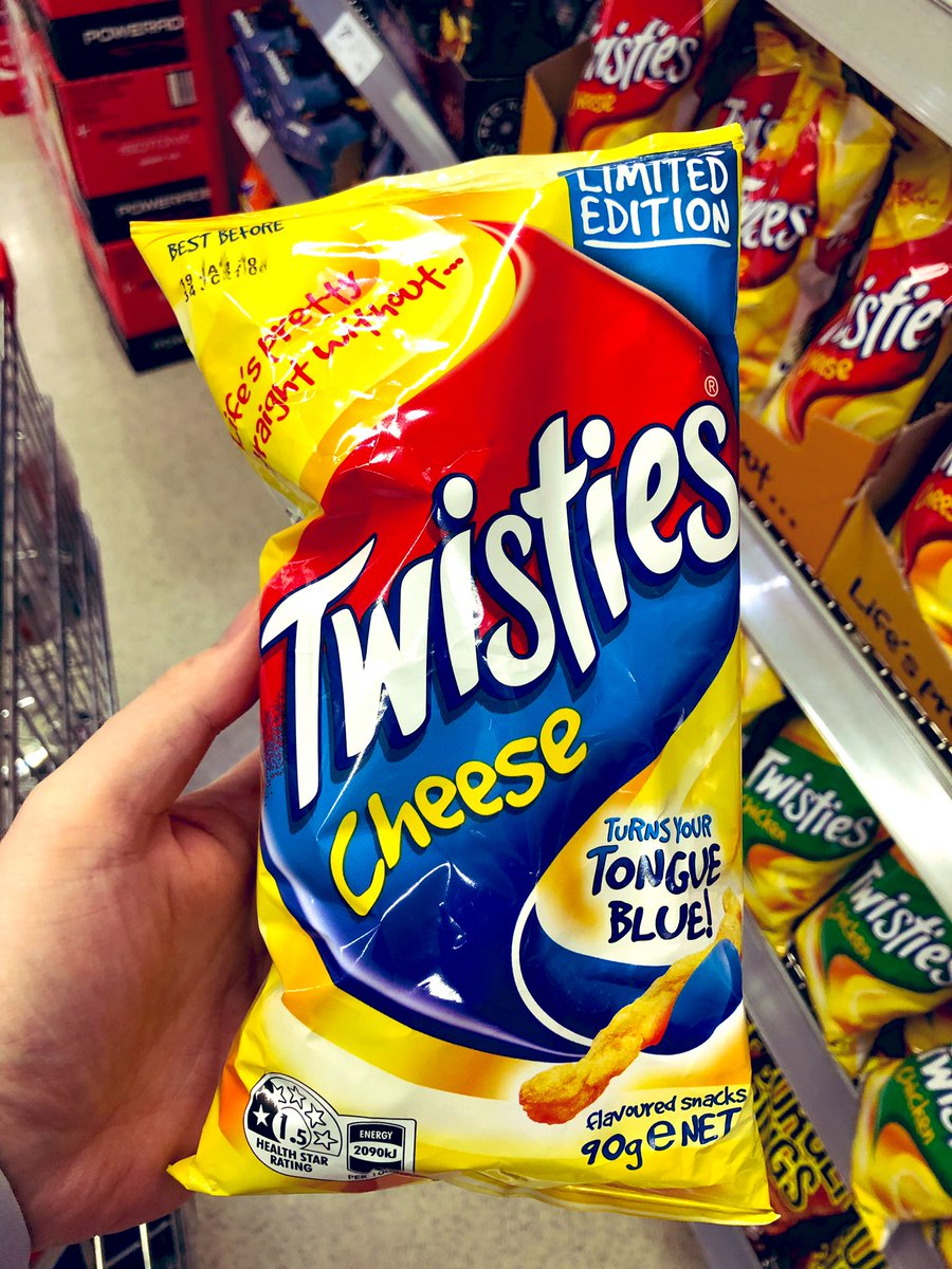 brad rowswell mp on twitter everyone loves a cheese twistie and the occasional product diversification but twisties that turn your tongue blue https t co opknw1ukaz brad rowswell mp on twitter everyone