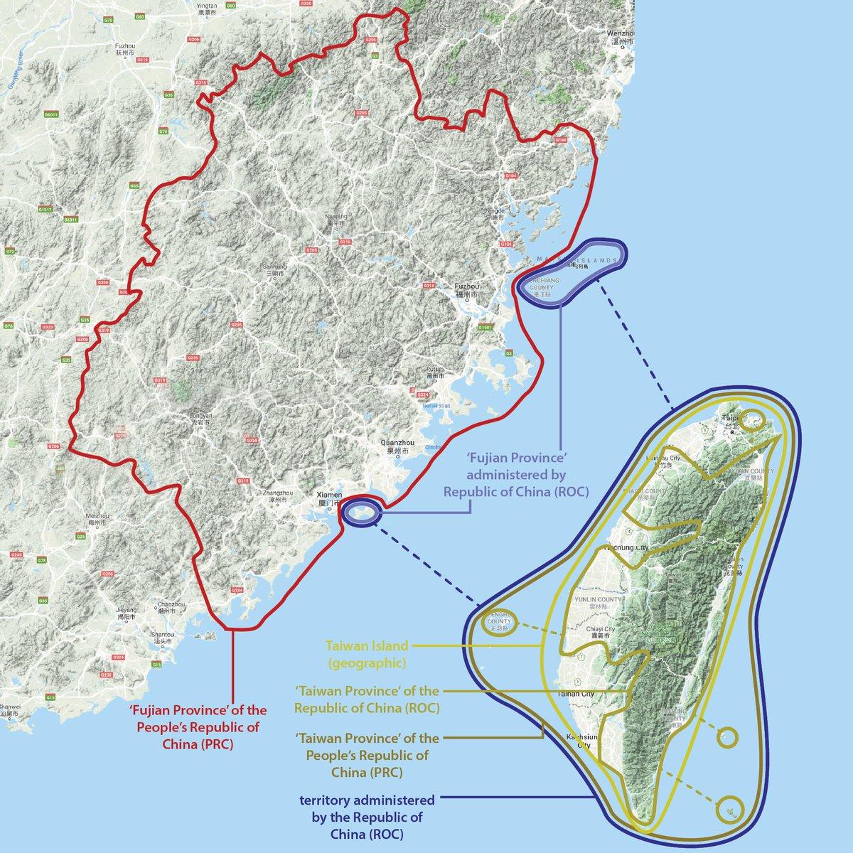 """敏度🅰️ Twitterissä: """"地図マニアが作った台湾地図 地理的な「台湾島 ..."""