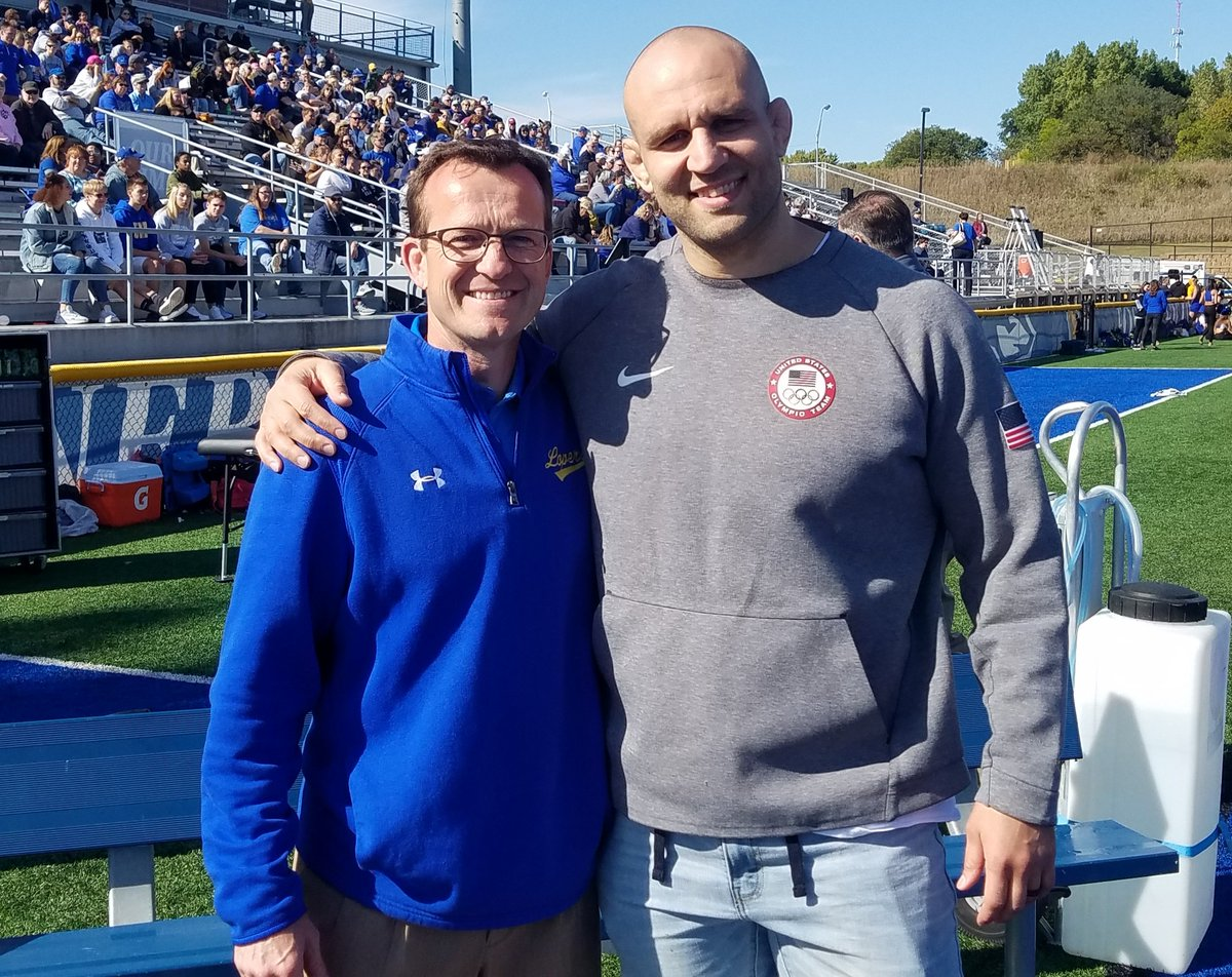 Shared a special weekend with a great young man and friend. Blessed to have @TervelDlagnev in my life. #L4L #HOF2019 #GoLopers @UNK_Athletics<br>http://pic.twitter.com/UnxNxP1YzQ