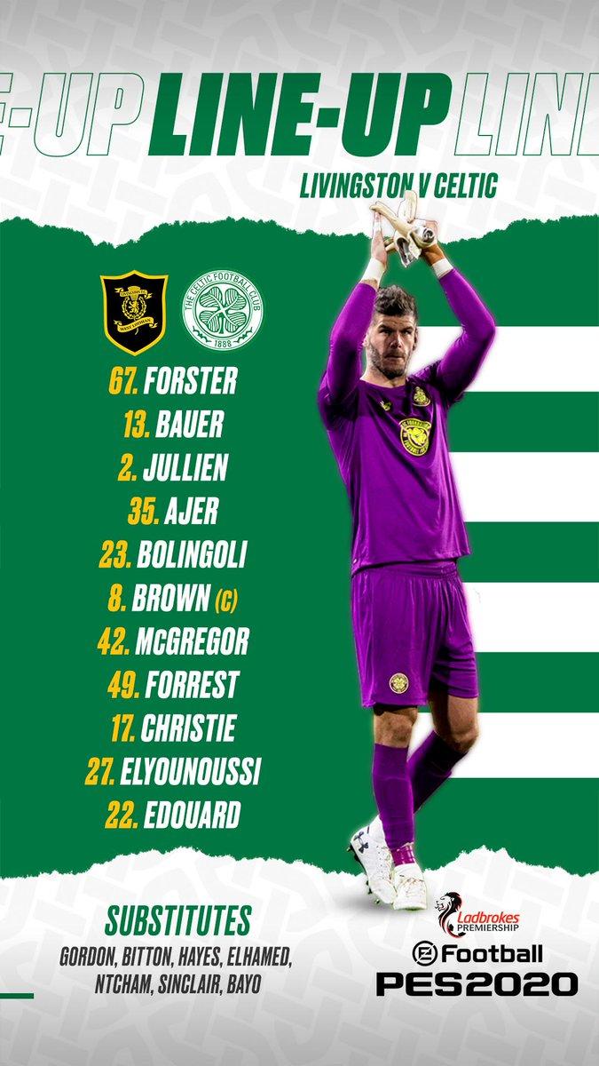 Celtic Football Club On Twitter Livcel Team News Coybig
