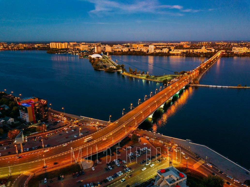 фото чернавский мост воронеж чудесно смотрятся