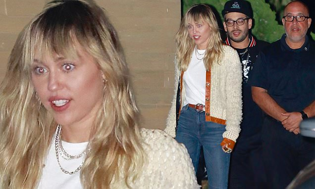 Miley Cyrus Enjoys Outing with Cody Simpson and Mom, Tish - Top Tweets Photo