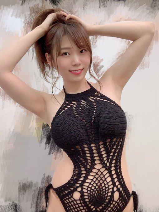 グラビアアイドル三井里彩のTwitter自撮りエロ画像13