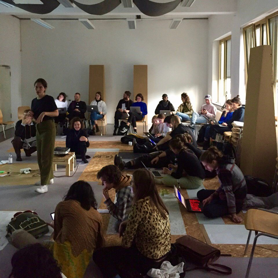 Yesterday we did a workshop @burghalle as part of #hurrahurra festival. We shared some of the tools and processes for self-organising that weve found useful over the last few years. Our presentation is here: are.na/block/5179575 Thanks to everyone who joined!