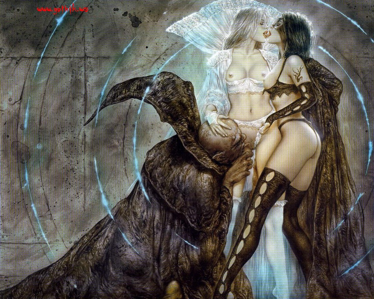 Demon sex illustrations
