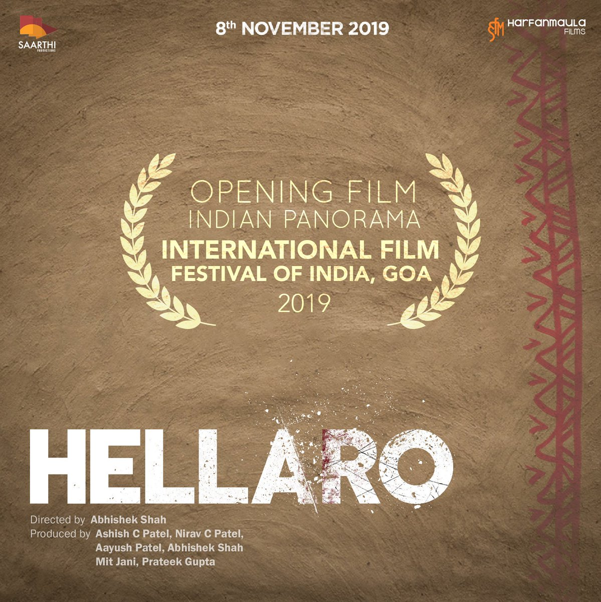 "Marathi cinema dominates but Gujarati ""Hellaro"" to open Indian Panorama at 50th IFFI"