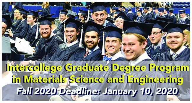 Psu Graduation 2020.Matse Penn State Pennstatematse Twitter