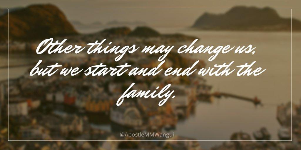 Other things may change us, but we start and end with the family. #WelcomeToTheFamilyOfChrist #ScriptureSunday #SundayFunday #SundayRead #StartupSunday #SpotlightSunday #WeekendVibes #SundaySpecial