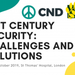 Image for the Tweet beginning: The @CNDuk and @IntlPeaceBureau conference Sun