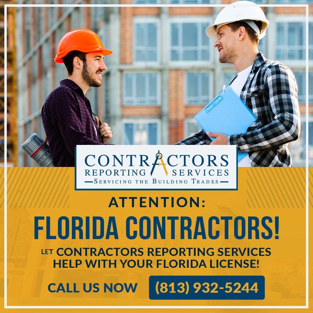 Florida Contractor Licensing Service Provider