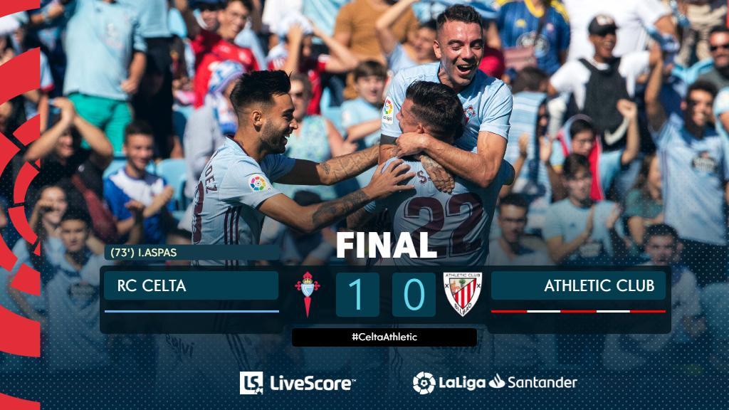 Liga : le Celta Vigo se contente du minimum face à Bilbao