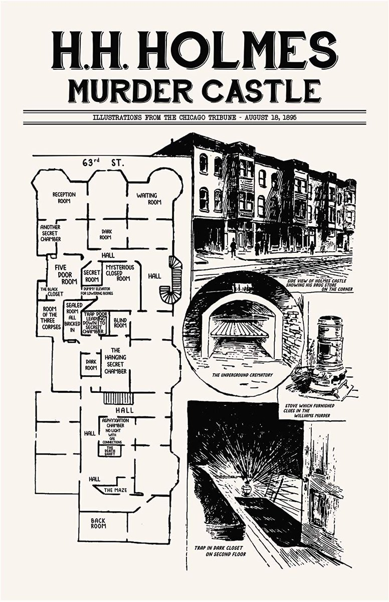 Fear Catalogue On Twitter The Layout Of H H Holmes Murder