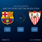 Image for the Tweet beginning: What's you're prediction?   Bet now