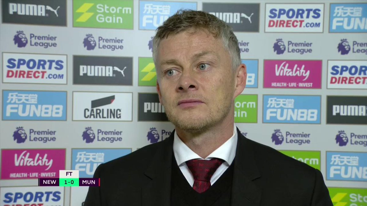 Ole Gunnar Solskjær admitted that it is his responsibility to help the young players and sort their heads out after Manchester Uniteds loss to Newcastle. #PL