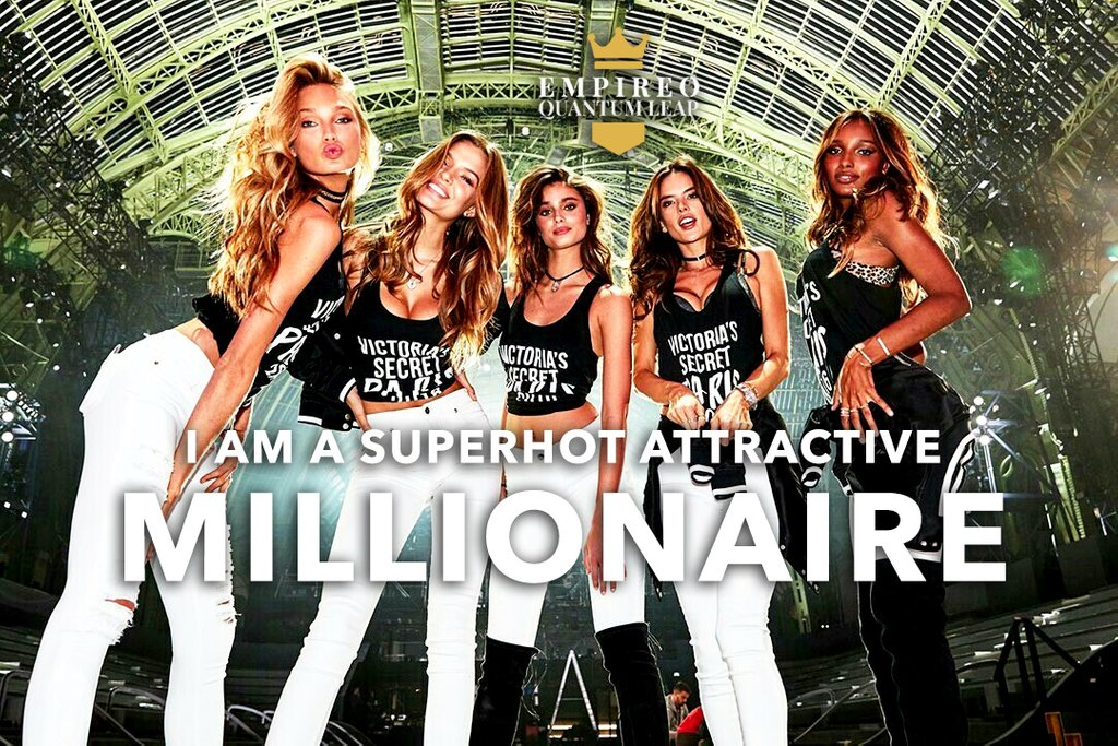 """I AM a SUPERHOT ATTRACTIVE MILLIONAIRE 😎💸  """"QUANTUM LEAP TO MILLIONAIRE""""💰💎 ▶️ I want to know more about the program https://t.co/zfXarp0sbB https://t.co/ZIGsUX28wM"""
