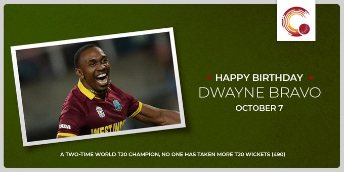 One of the most entertaining cricketers of the 21st century. Happy Birthday, Dwayne Bravo!