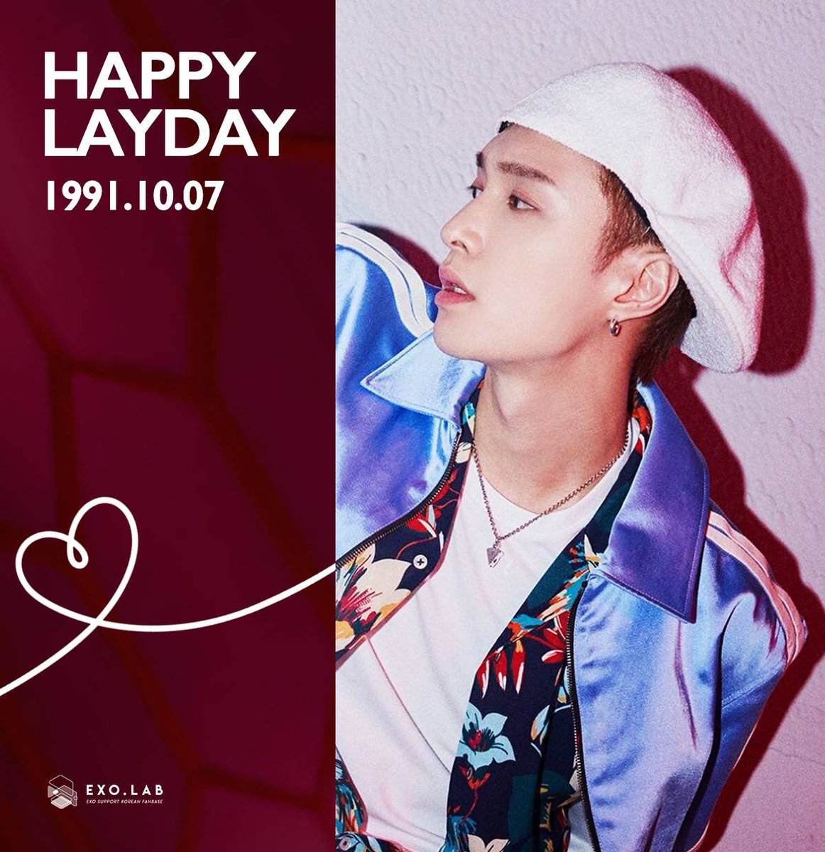 happy birthday beloved exo-l, chinese sheep come back quickly with other exo members .. we miss you so much .. I love you 3000@weareoneEXO @layzhang @B_hundred_Hyun   #HoneyLayDay #LayDay #ZhangYixingDay pic.twitter.com/YpdsorNazJ