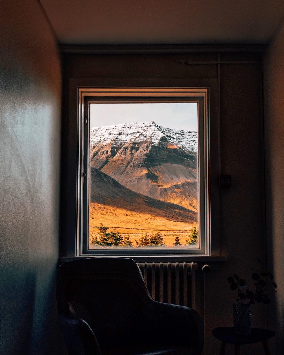 #HelloFrom the Westfjords in Iceland: a room with a view 🏔 instagram.com/p/B3SBgNhgUMB/