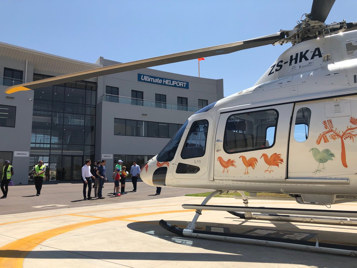 Day 6 of our Demo Tour in #SouthAfrica took us to #Midrand. Although the day was a little bit windy, thanks to the #AW119Kx's rotors technology and the dual 3-axis Stability Augmentation System, our guests enjoyed a smooth and comfortable flight over #Johannesburg.