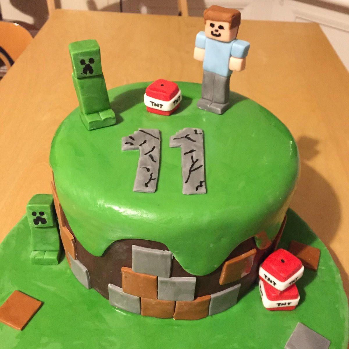 Superb Free Cakes For Kids Glasgow A Twitter What A Fabulous Minecraft Funny Birthday Cards Online Eattedamsfinfo