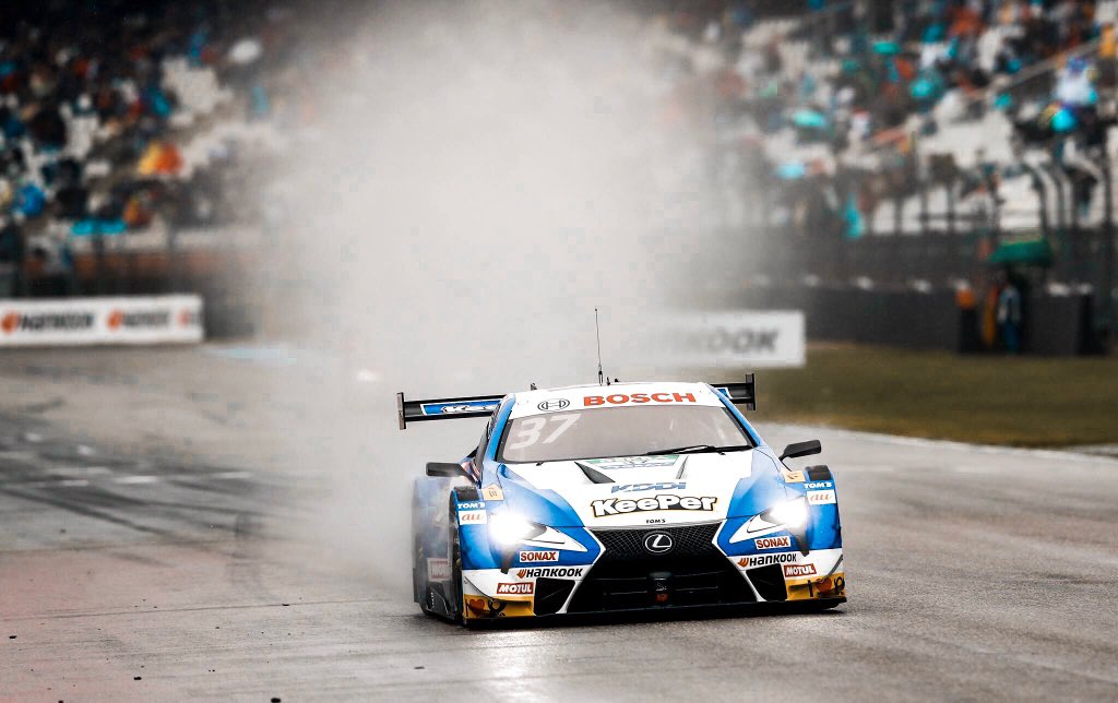 Nick Cassidy SUPER GT Lexus DTM