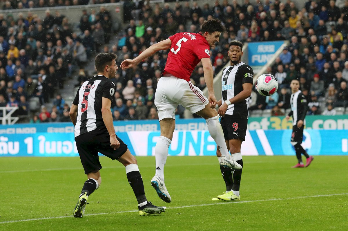 No Manchester United player had more touches in the opposition box (4 touches) or attempted more shots (3 shots) versus Newcastle than Harry Maguire. If ever a stat summed up the Red Devils situation 😬 #PL #NEWMUN