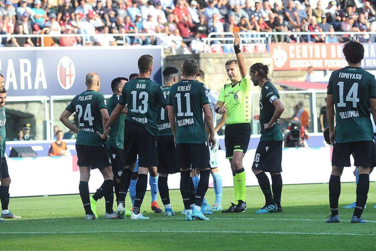 #SerieA - RESULTS: Fiorentina 1-0 Udinese Atalanta 3-1 Lecce Roma 1-1 Cagliari Bologna 2-2 Lazio Torino 0-0 Napoli