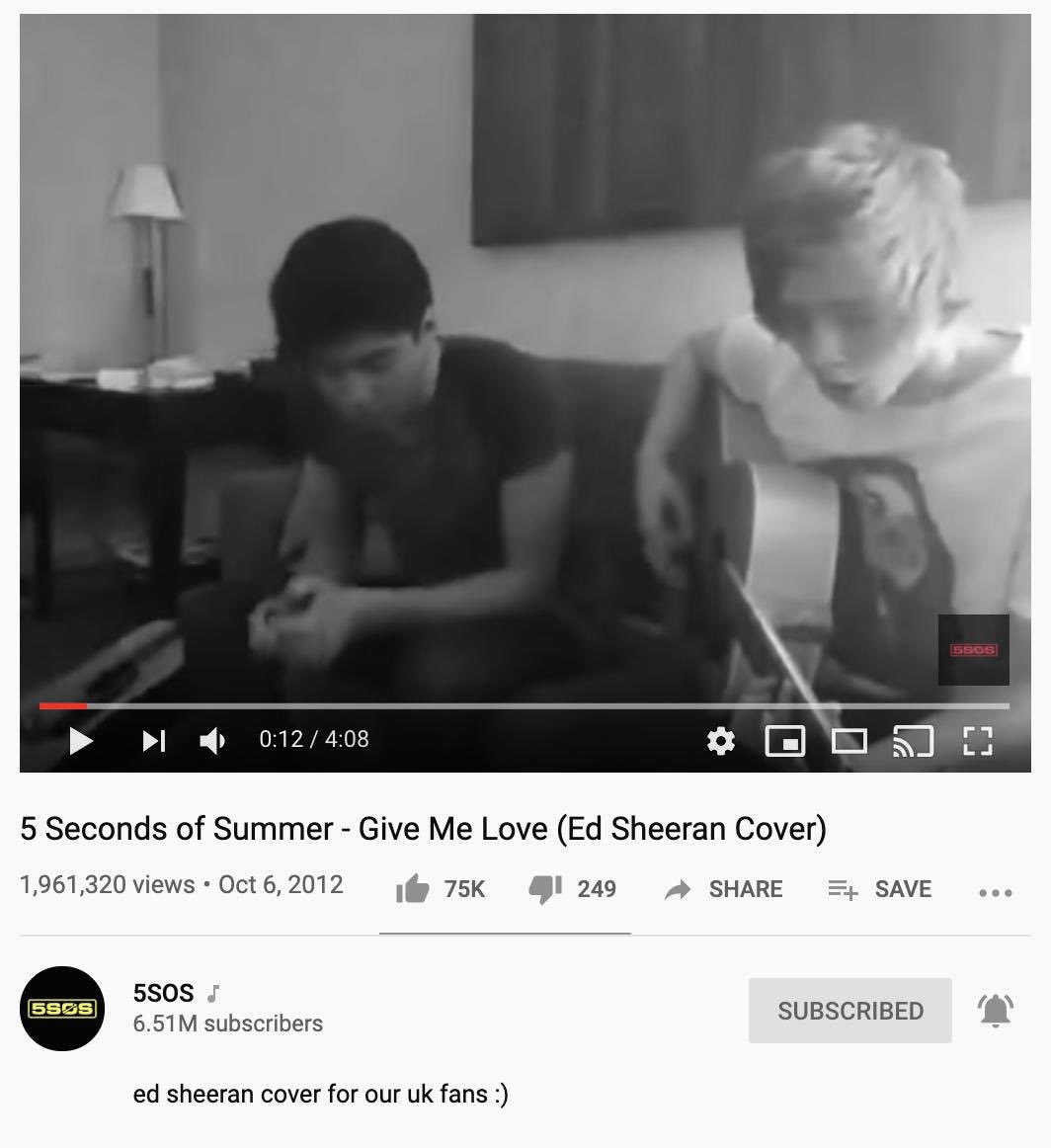 this lil baby turns 7 years old. it was the first time we went to London. we hadn't posted in a couple of weeks and Ash and I yelled at Cal & Luke to record something and they did this in the hotel room next to ours. we probably ate Greggs afterwards