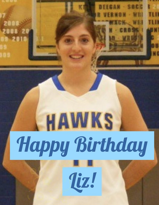 Wishing a very Happy Birthday to alum Liz Kilzi 13! We hope you have a great day Liz!!