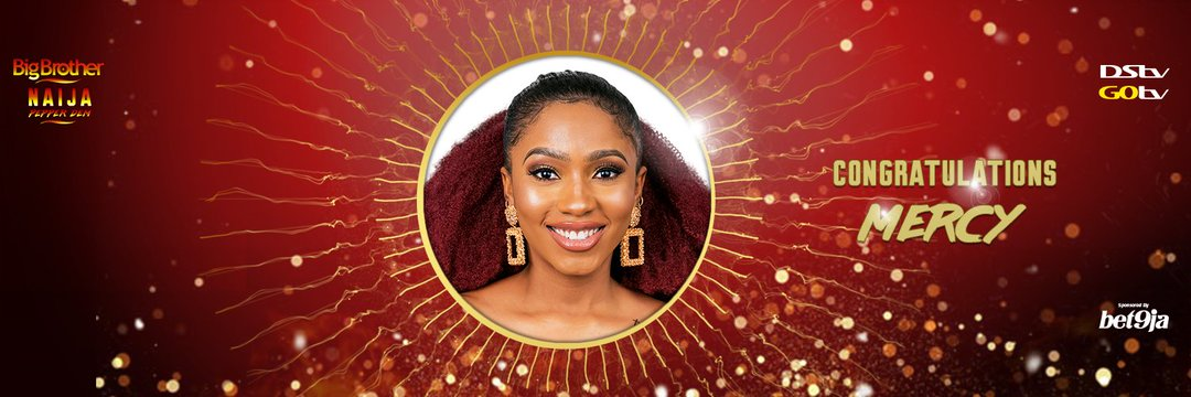 Mercy wins #BBNajia2019  Now we have 4 @Lamborghini's The Nigerian singer/prison advocate The Nigerian female DJ The Car The Nigerian reality star. 1st FEMALE winner. Congrats! See you next year.  #PepperDem #BBNaijaUpdates  #BBNaijaEviction #bigbrothernaija2019<br>http://pic.twitter.com/V6Y03ifIcw