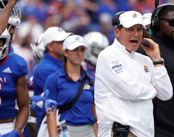 Les Miles has fired OC Les Koenning and promoted consultant Brent Dearmon to OC. Dearmon was previously the HC at Bethel University, which scored 55 ppg last year. More on the Coaching Tracker: theathletic.com/156825/2019/04…