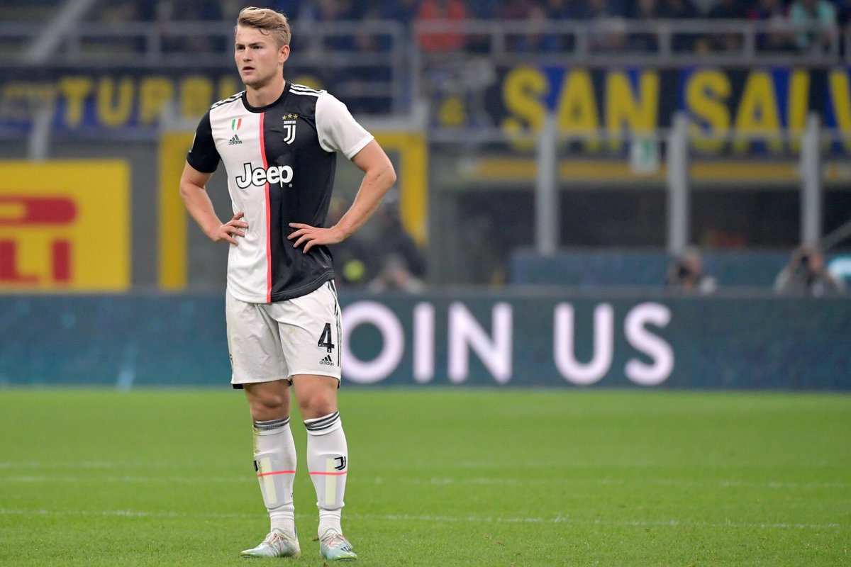 🇳🇱 Matthijs De Ligt at @JuventusFC: 🤦‍♂️ Own-goal vs Inter ❌ Did not play vs Parma 🥅 Conceded 3 goals vs Napoli 🥅 Conceded 2 goals vs Atletico ❌ Did not play vs Verona 🎯 Gave away penalty vs Inter 👀 Nutmegged by Romelu Lukaku 😶 Tough start to life in @SerieA.