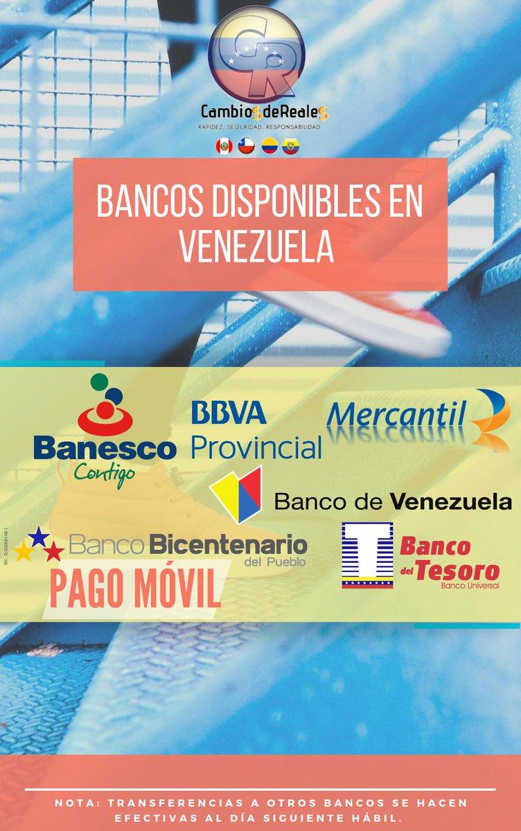 Bancos disponibles para transferencias directas.    #venezolanosenlima #venelima #venezuelaes #venezuelatequiero #remesasavenezuela #remesasfamiliares #soyinmigrante #venezolanosenelmundo #diadelinmigrante #remesaspanama #venezolanosenmiami #venezuelalibre #inmigrantes #guaidó